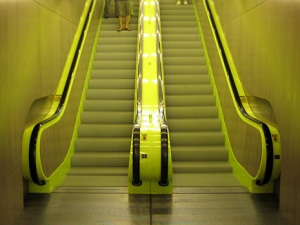 library_escalator